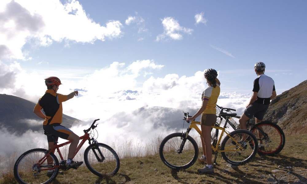 In una vacanza in bicicletta nelle Dolomiti