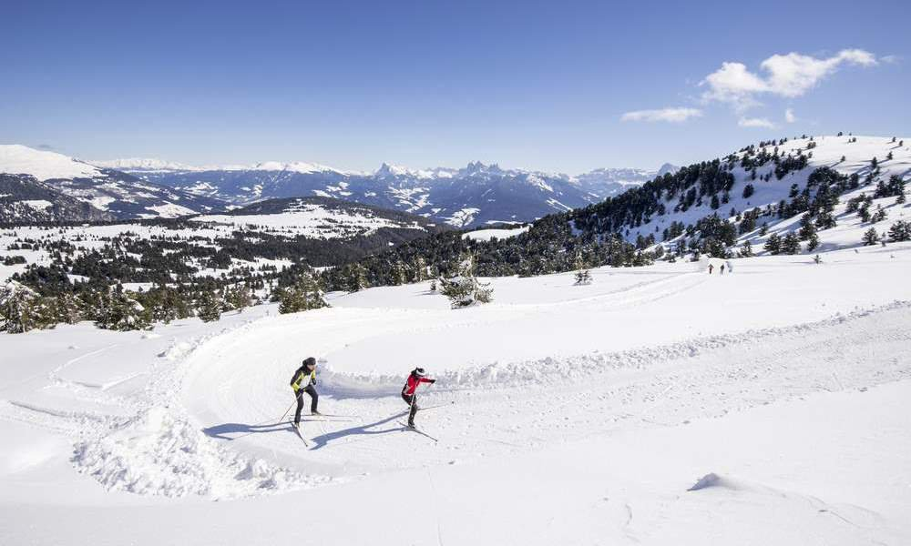 Cross-country skiing holiday